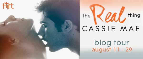 The Real Thing by Cassie Mae Blog Tour