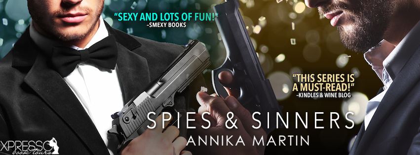 SPIES AND SINNERS Cover Reveal