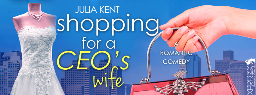 SHOPPING FOR A CEO'S WIFE Cover Reveal