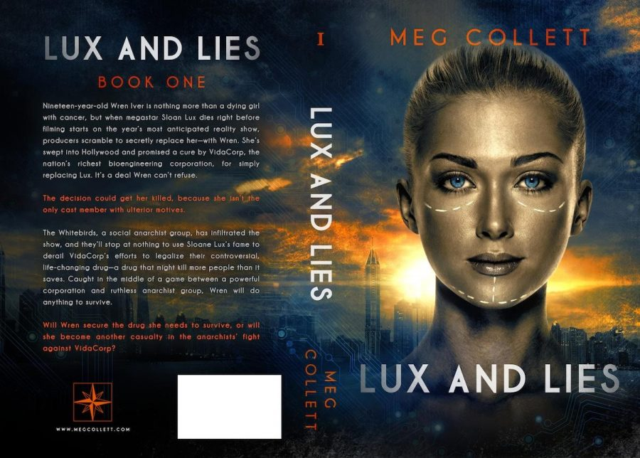 LUX AND LIES (Whitebird #1) by Meg Collett (Full Cover)