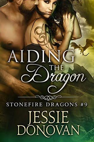 AIDING THE DRAGON (Stonefire Dragons #9) by Jessie Donovan