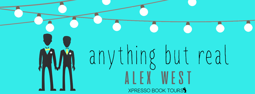 ANYTHING BUT REAL Cover Reveal