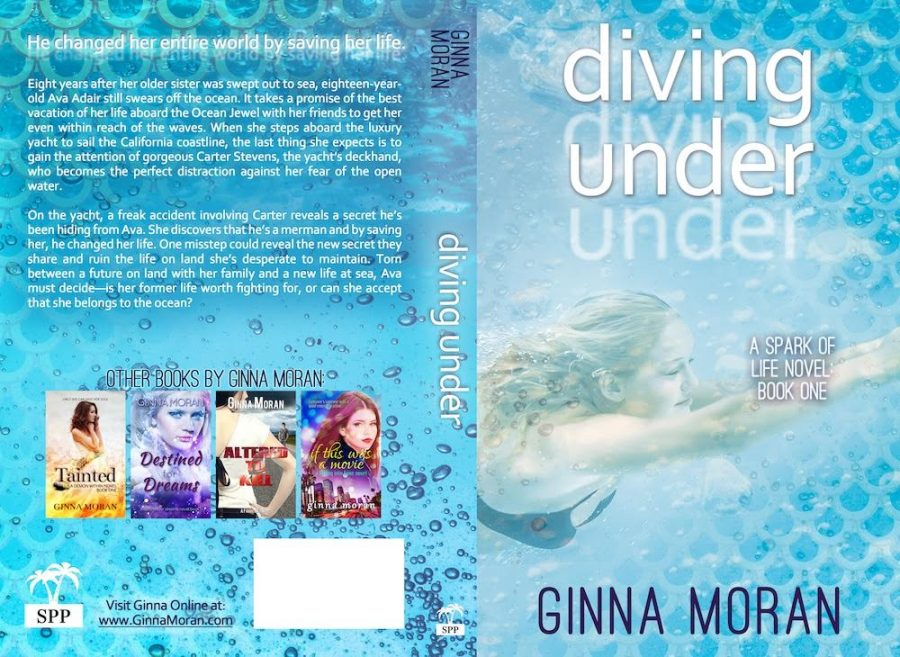 DIVING UNDER (Spark of Life #1) by Ginna Moran (Full Cover)