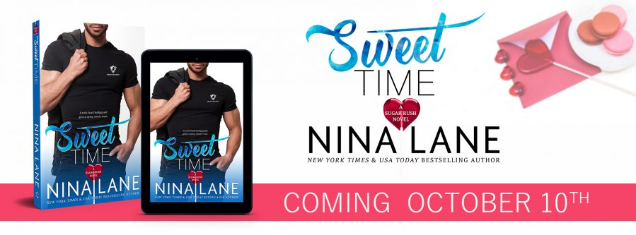 SWEET TIME Cover Reveal