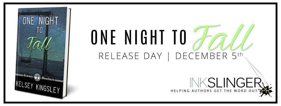 ONE NIGHT TO FALL Release Day