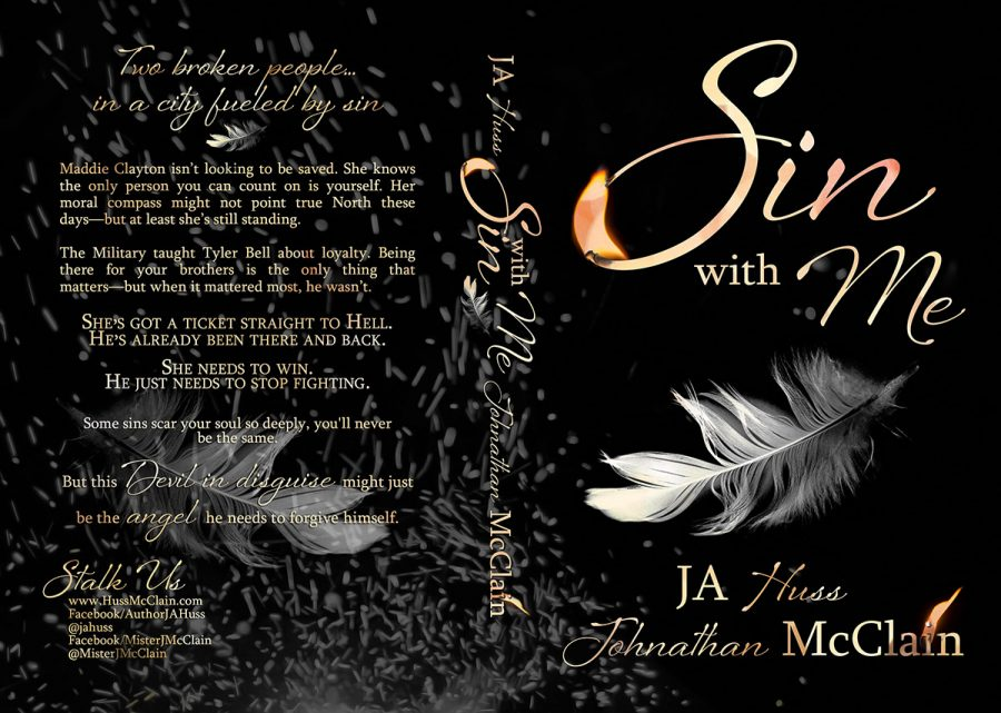 SIN WITH ME (Original Sin #1) by J.A. Huss and Johnathan McClain Full Cover