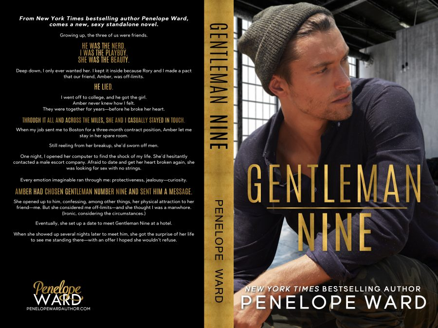 GENTLEMAN NINE by Penelope Ward (Full Cover)