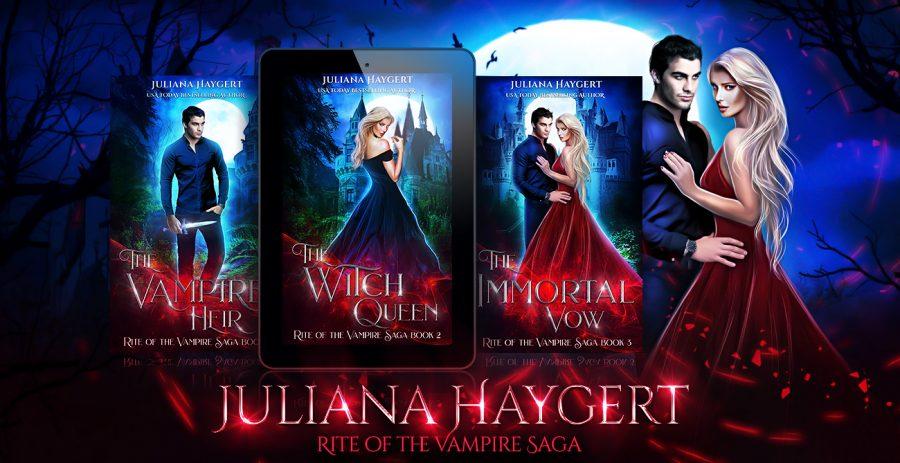 Rite of the Vampire Saga Cover Reveals
