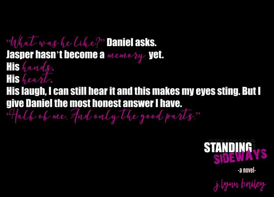 STANDING SIDEWAYS Teaser 4