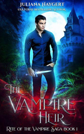 THE VAMPIRE HEIR (Rite of the Vampire Saga #1) by Juliana Haygert