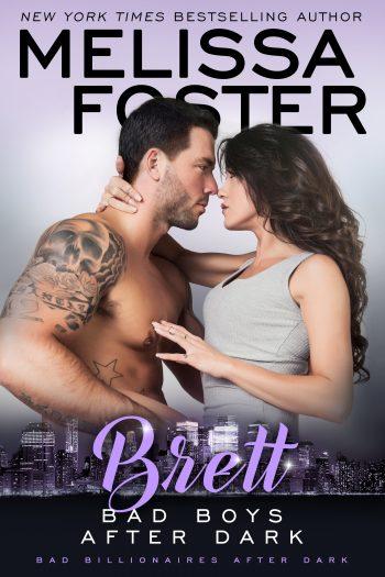 BRETT (Bad Boys After Dark #4) by Melissa Foster