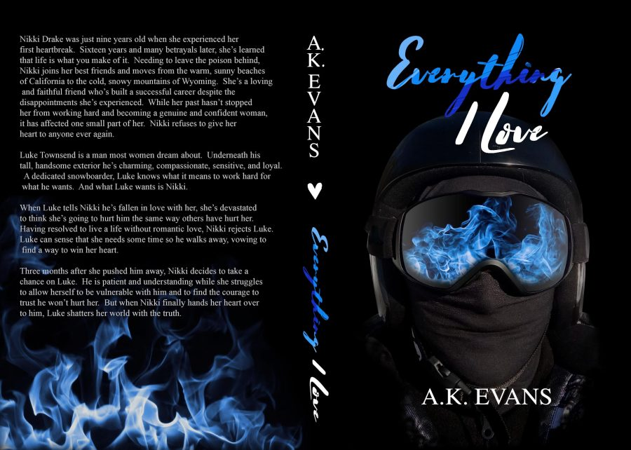EVERYTHING I LOVE (Everything #4) by A.K. Evans (Full Cover)
