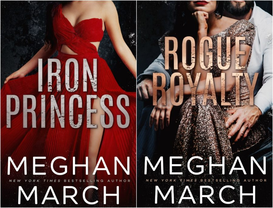 IRON PRINCESS and ROGUE ROYALTY Cover Reveals