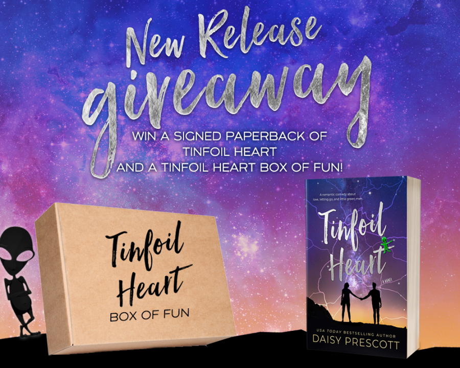 TINFOIL HEART Giveaway