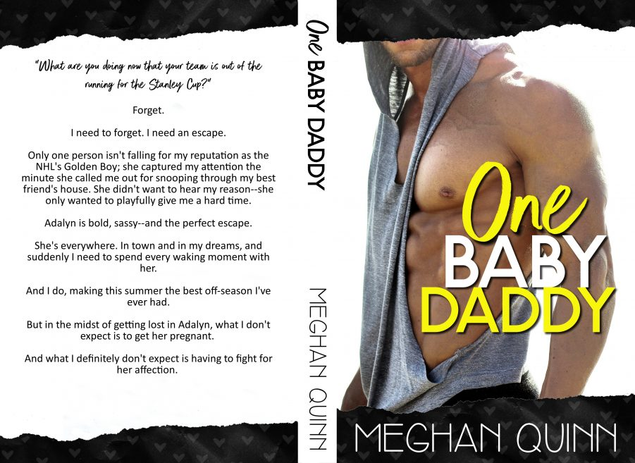 ONE BABY DADDY (Dating by the Numbers #3) by Meghan Quinn (Full Cover)