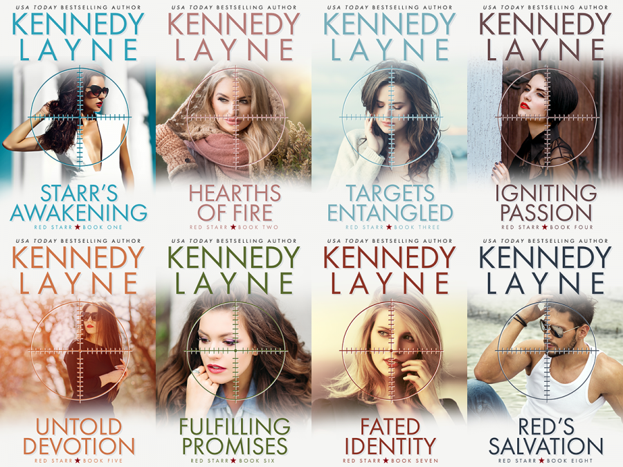 Red Starr Series Cover Reveal