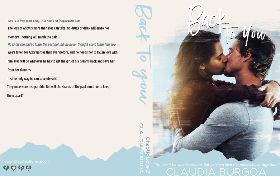 BACK TO YOU (Chaotic Love Duet #2) by Claudia Burgoa (Full Cover)
