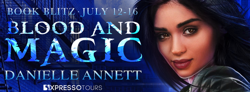 BLOOD AND MAGIC Book Blitz