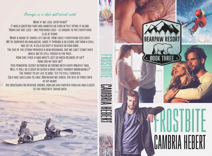 FROSTBITE (BearPaw Resort #3) by Cambria Hebert (Full Cover)