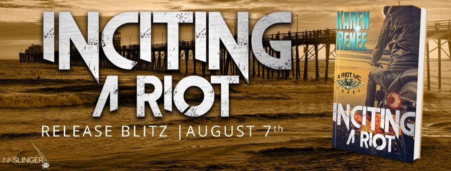 INCITING A RIOT Release Day