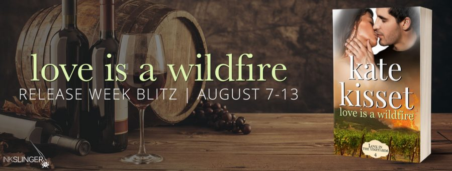LOVE IS A WILDFIRE Release Blitz