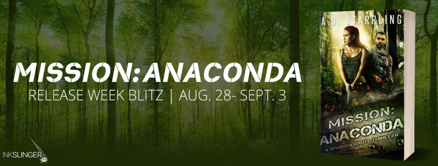 MISSION ANACONDA Release Blitz