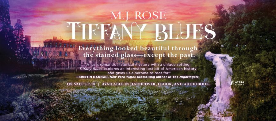 TIFFANY BLUES by M.J. Rose Release Day