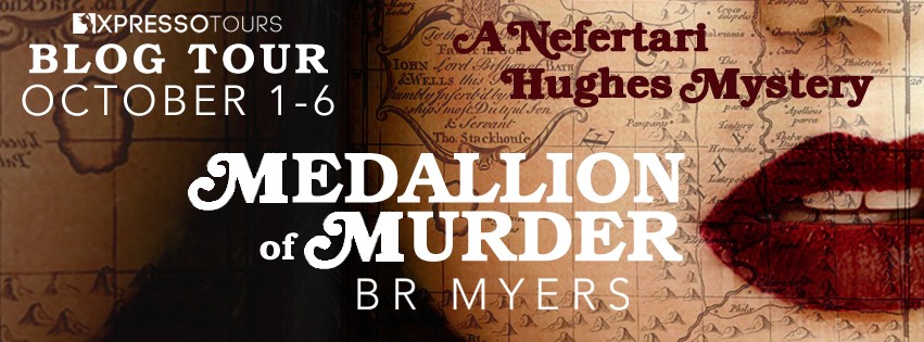 MEDALLION OF MURDER Blog Tour