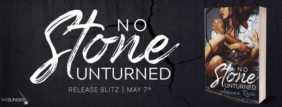 NO STONE UNTURNED Release Day